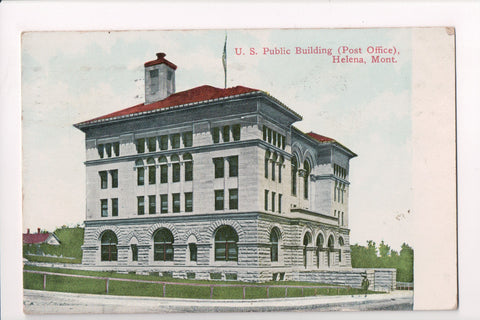 MT, Helena - Post Office, PO, US Public Building - S01365
