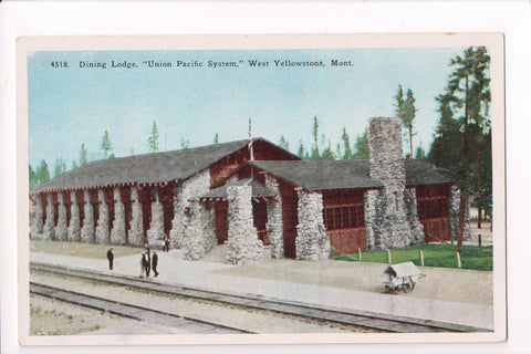 MT, West Yellowstone - Dining Lodge UNION PACIFIC SYSTEM - S01637