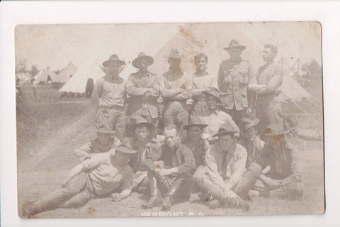 MISC - Military Men in uniform - VERMONT - RPPC - D06173