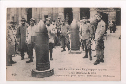 MISC - Military, German Shells (1m 39 length - 747 kilos), army museum - w04667
