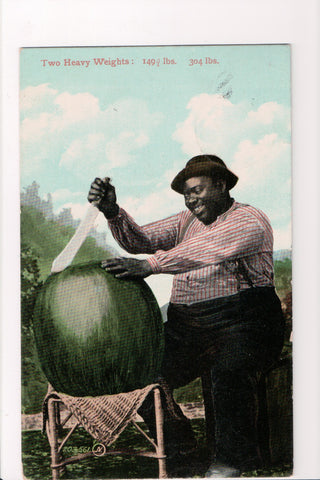 Black Americana - 2 Heavy Weights - man, watermelon (ONLY Digital Copy Avail) - CP0390