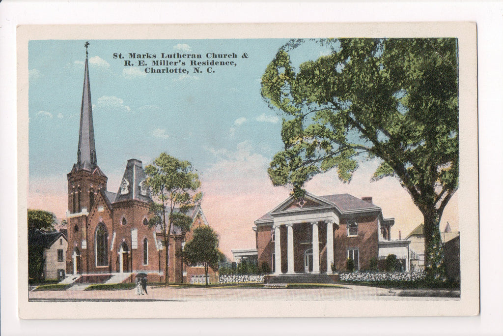 NC, Charlotte - St Marks Lutheran Church, residence - CP0208