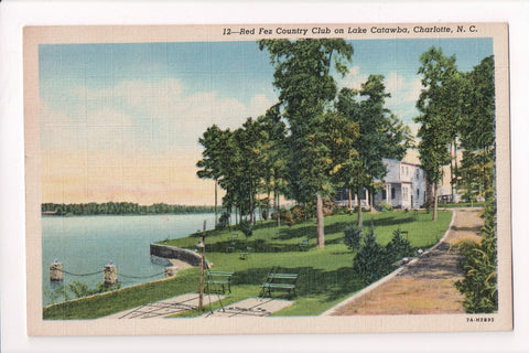 NC, Charlotte - Red Fez Country Club, Lake Catawba - w04980