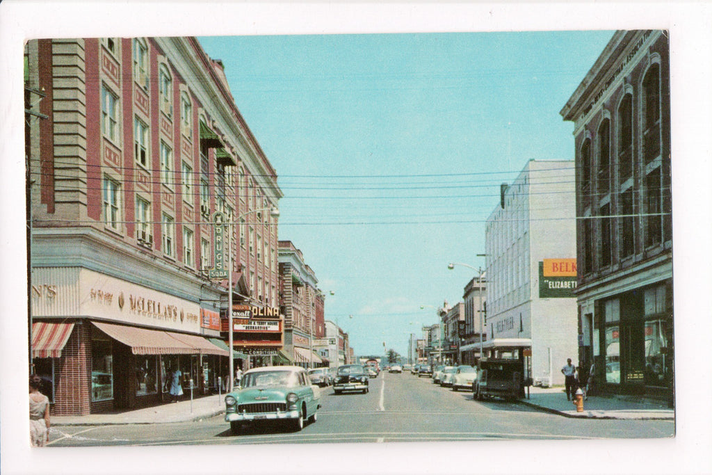 NC, Elizabeth City - Main Street, movie theatre (ONLY Digital Copy Avail) - A06723