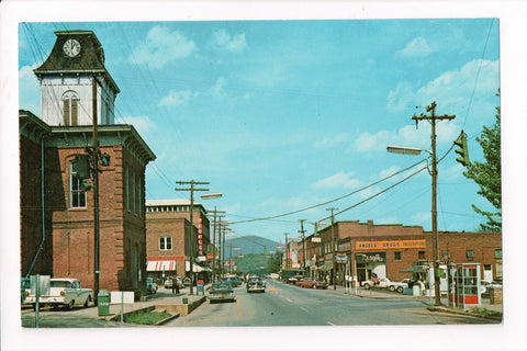 NC, Franklin - Street Scene, Angels Drugs, Peoples - A06732