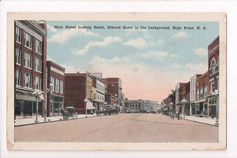 NC, High Point - Main Street postcard - 500969