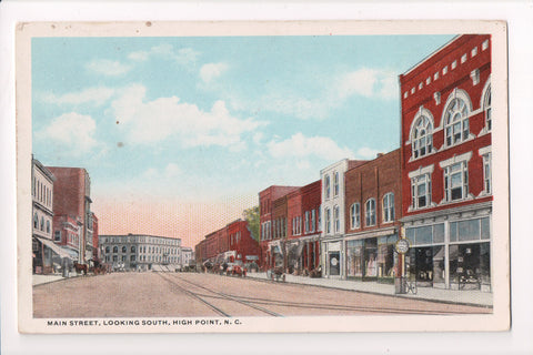 NC, High Point - Main Street, looking south - 500970