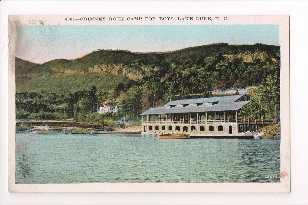 NC, Lake Lure - Chimney Rock Camp for Boys - 800962