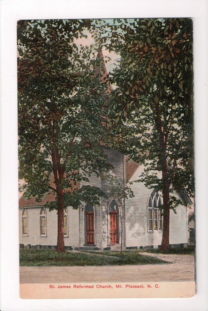 NC, Mt Pleasant - St James Reformed Church (ONLY Digital Copy Avail) - T0163