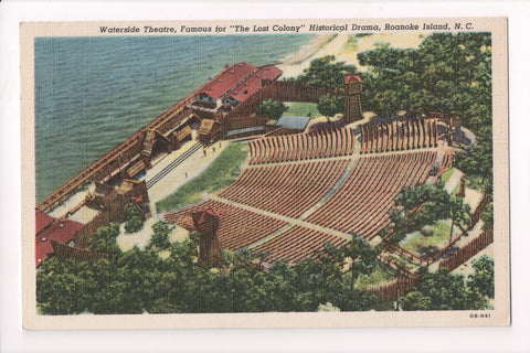 NC, Roanoke Island - Waterside Theatre, LOST COLONY fame - w04876