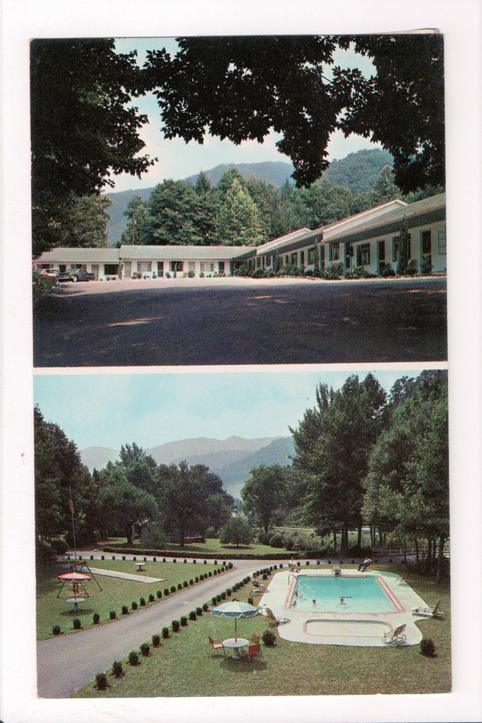 NC, Waynesville - Rocky Waters Motel, DPO for MAGGIE, NC - B17108