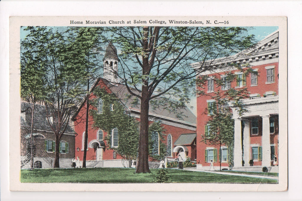NC, Winston-Salem - Home Moravian Church, Salem College - w00500