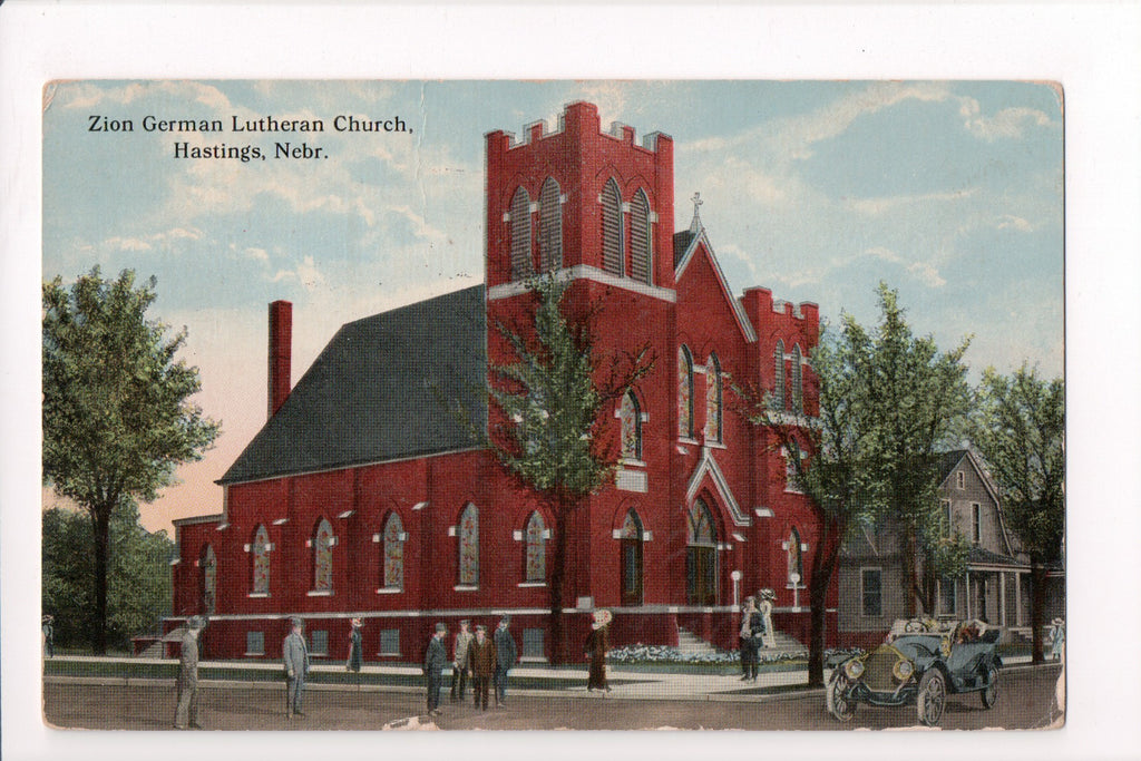 NE, Hastings - Zion German Lutheran Church (ONLY Digital Copy Avail) - SL2442