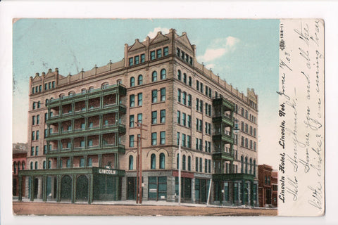 NE, Lincoln - Lincoln Hotel, The Lincoln - postcard - SL2418