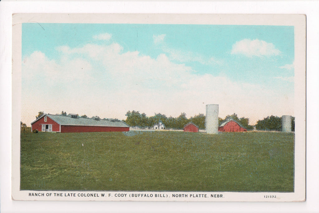 NE, North Platte - Buffalo Bill ranch (Colonel W F Cody) - CR0100