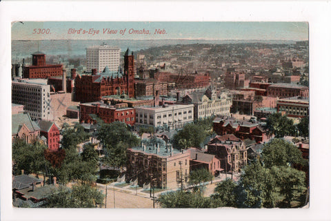 NE, Omaha - Bird Eye View of city from about 1913 - 500041