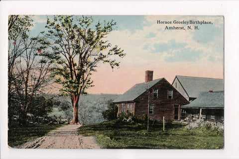 NH, Amherst - Horace Greeley Birthplace - S01022