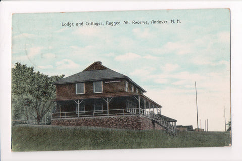 NH, Andover - Lodge and Cottages postcard - MB0740