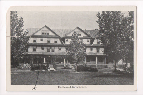 NH, Bartlett - The Howard - postcard from about 1921 - w00996