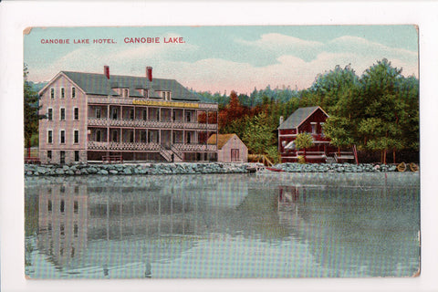 NH, Canobie Lake - Canobie Lake Hotel across the water - R00860