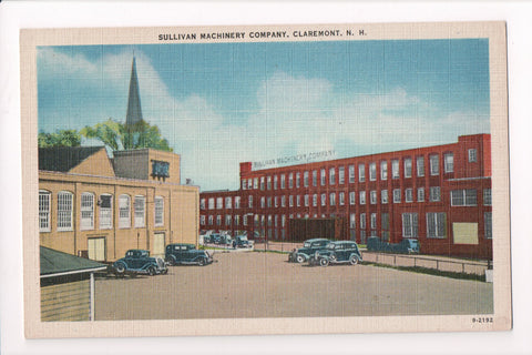 NH, Claremont - Sullivan Machinery Co postcard - NH0071