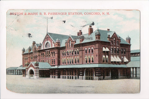 NH, Concord - Boston and Maine RR Passenger Station - C08735