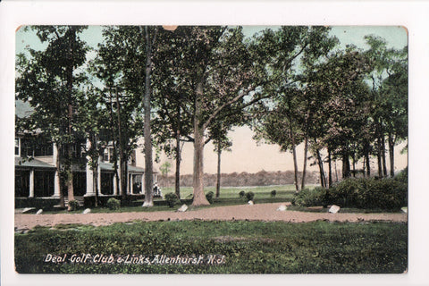 NJ, Allenhurst - Deal Golf Club and Links (club house) - B06177