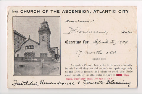 NJ, Atlantic City - Church of the Ascension (ONLY Digital Copy Avail)- A07381
