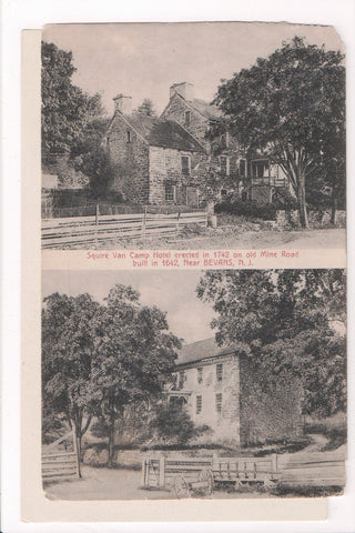 NJ, Bevans - Squire Van Camp Hotel on Old Mine Road - z17017 - **DAMAGED / AS IS
