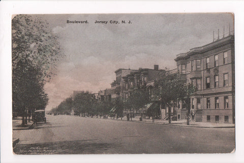 NJ, Jersey City - Hudson Boulevard (Lincoln Highway) - C08725