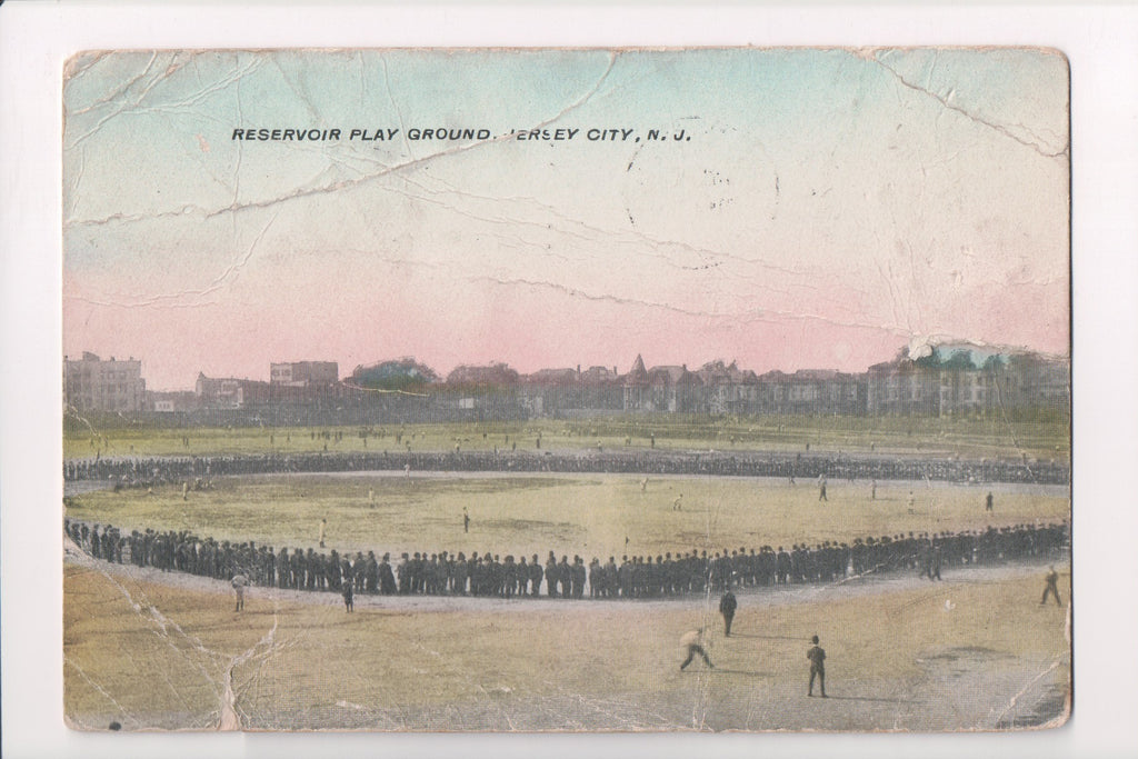 NJ, Jersey City - Reservoir Play Ground, Ball Park (ONLY Digital Copy Avail) - C08721