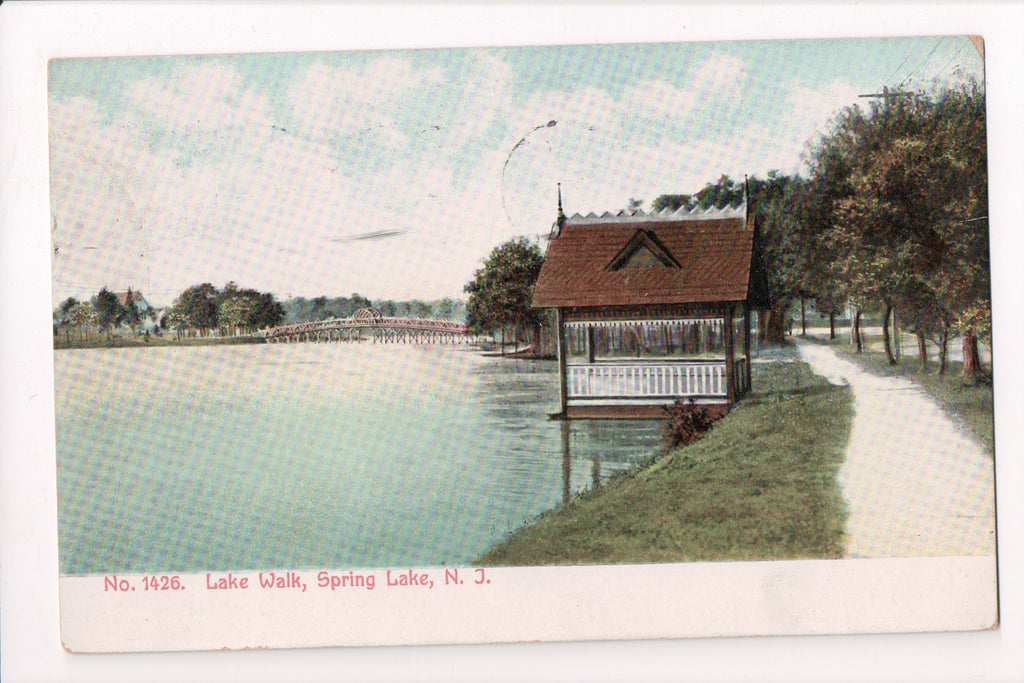 NJ, Spring Lake - bridge, walkway (ONLY Digital Copy Avail) - EP0085