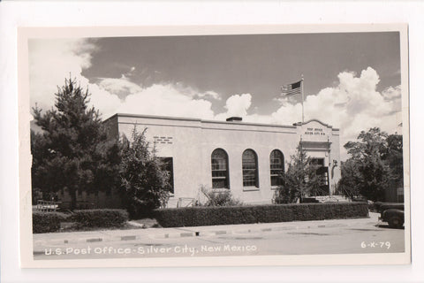 NM, Silver City - Post Office, PO, RPPC - F11003