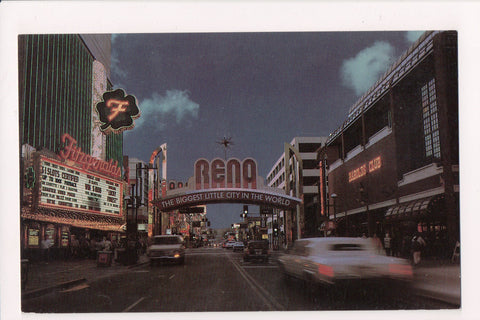 NV, Reno - Arch, Fitzgeralds etc postcard - NV0003