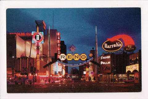 NV, Reno - Harolds, Harrahs, Silver Dollar Club, Arch etc - NV0009