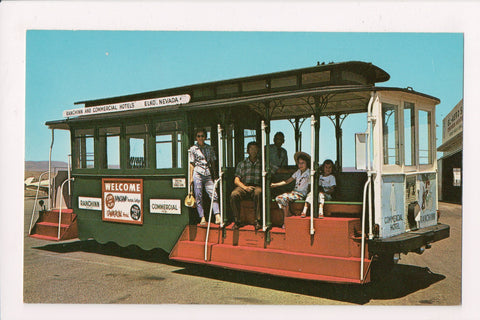 NV, Elko - Ranchinn and Commercial Hotels Trolley Car - NV0018