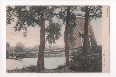 NY, Amsterdam - Fort Hunter Bridge postcard - D17195