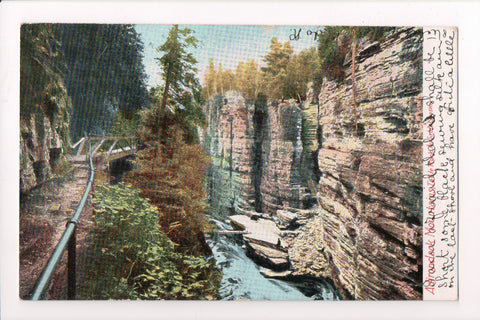 NY, Ausable Chasm - Table Rock view from above @1908 - C17061