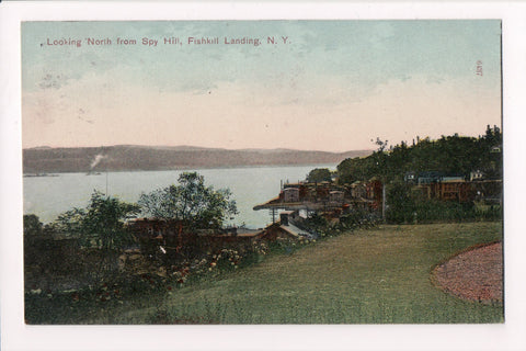 NY, Fishkill Landing, from Spy Hill - DPO Fishkill on the Hudson cancel - D07213