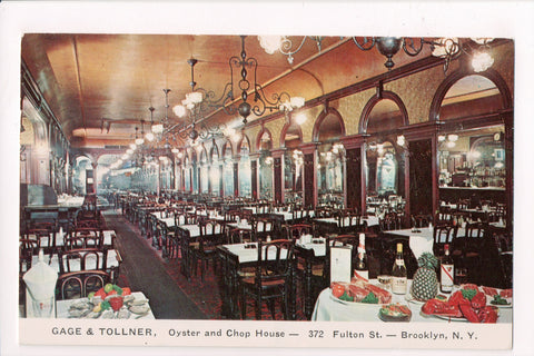 NY, Brooklyn - Gage and Tollner Restaurant - BUILD YOUR slogan - 605007