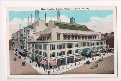 NY, New York City - Madison Square Garden - NOTIFY YOUR slogan postmark - A07127