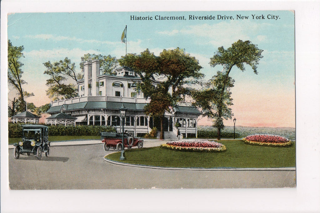 NY, New York City - Claremont Restaurant, Riverside Drive - T00257
