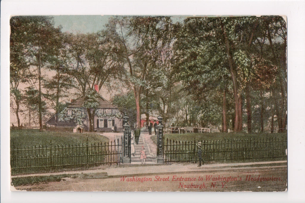 NY, Newburgh - Washington Headquarters, Washington St - D04397