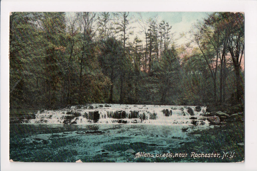 NY, Rochester - Allens Creek postcard - w04966