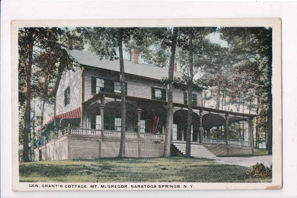 NY, Saratoga Springs - Gen Grants Cottage, Mt McGregor - w02602