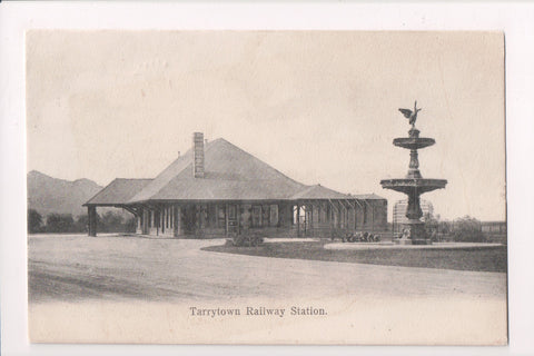 NY, Tarrytown - Railway Station - cancel of NY and CHI RPO - D05061