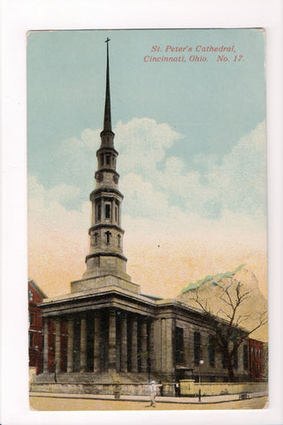 OH, Cincinnati - St Peters Cathedral postcard - CP0306