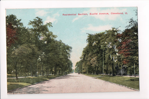 OH, Cleveland - Euclid Ave, Residential Section (from 1911) - A06416