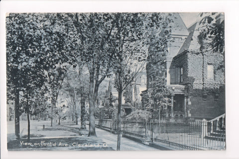 OH, Cleveland - Euclid Ave view from about 1907 - B06110