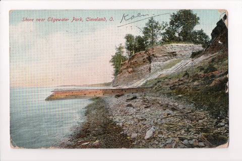 OH, Cleveland - Edgewater Park, shoreline near - CP0228
